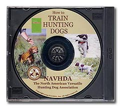NAVHDA Training DVD